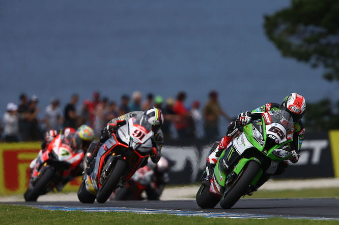 Rea won the first race