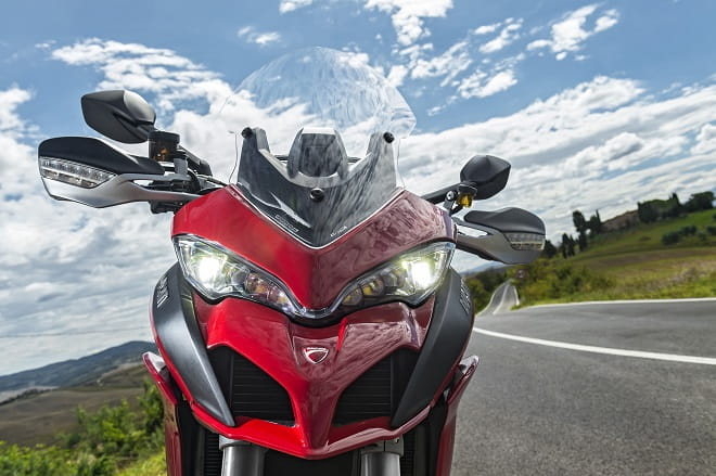 Ducati's Multistrada 1200S is all-new for 2015. We took a quick spin before our full ride tomorrow.