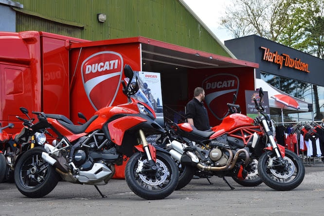 Ride the 1299 and Multistrada at Ducati's road show