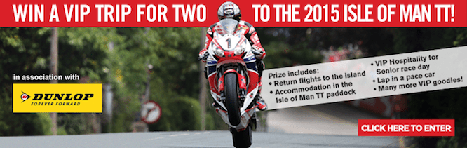 Win a trip for 2 to the 2015 IOMTT