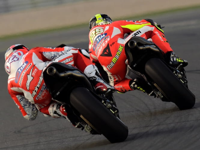 Things are looking positive for Ducati