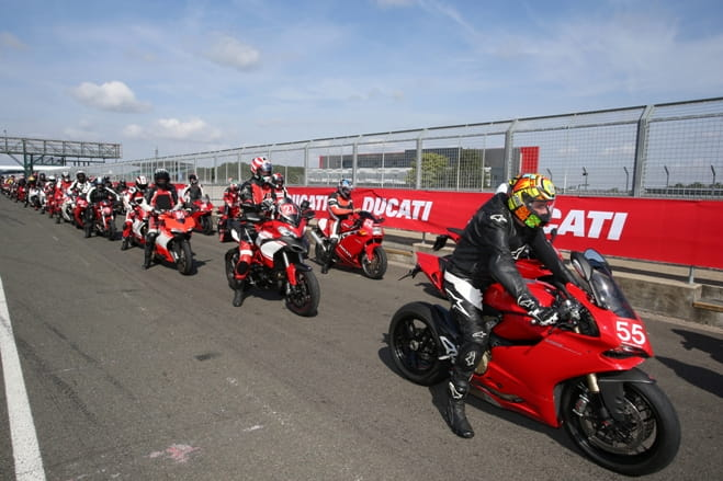Silverstone or Donington Park, your choice