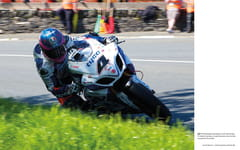 Guy Martin on the Tyco Suzuki