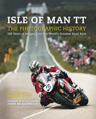 Front cover shows McGuinness tipping into Creg-ny-Baa