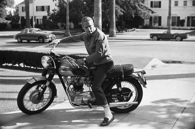A proper petrol head: Paul Newman