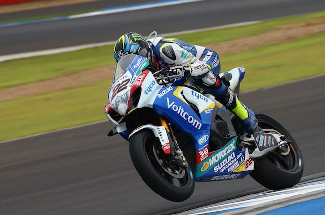 Lowes was fastest ahead of superpole