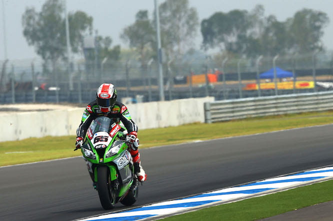 Rea took his second pole of the season