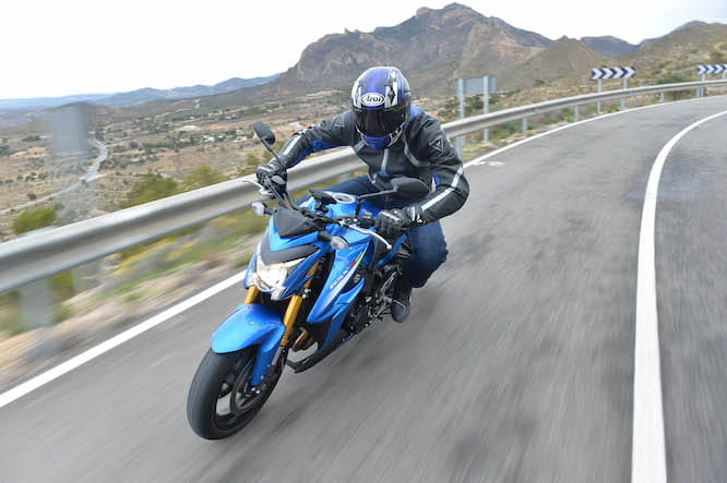 If a naked GSX-R1000 has always appealed, the GSX-S won't disappoint