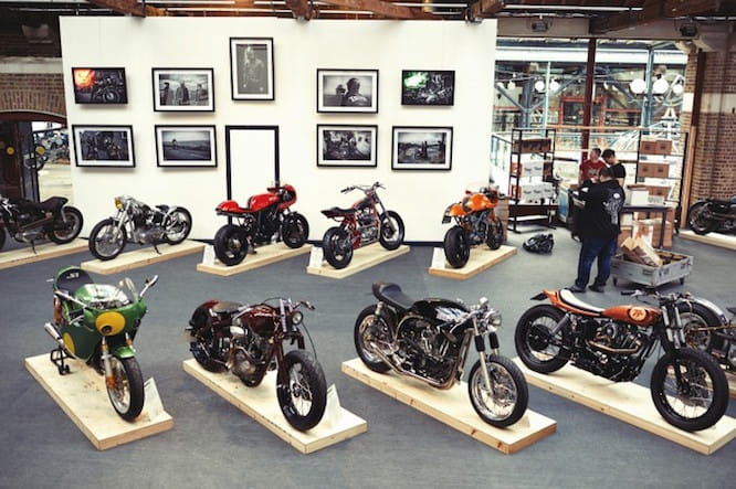 If you're into the custom cafe racer scene, this is for you