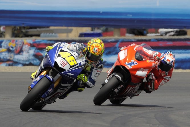 Rossi and Stoner will ride at Goodwood