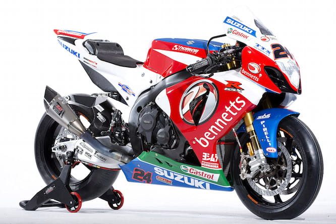 The Bennetts Suzuki GSX-R1000