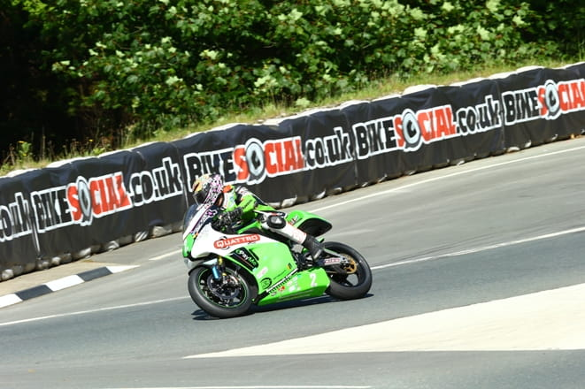 James Hillier at Governors Bridge in 2014
