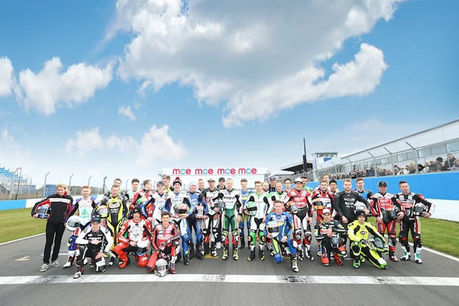 The 2015 British Superbike Grid