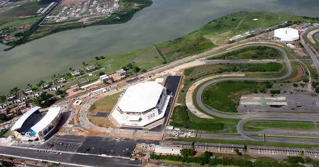 Motorcycle Grand Prix racing was last seen at Jacarepagua in 2004