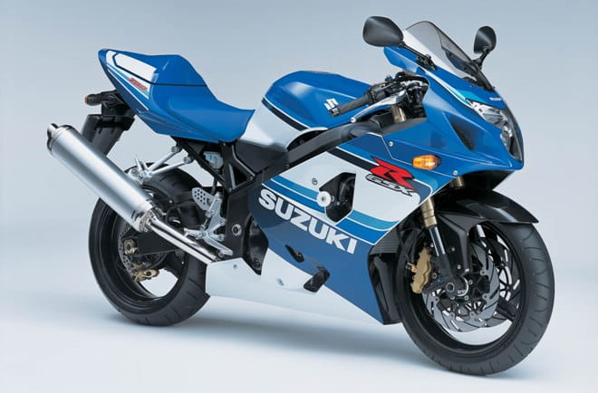 Built in 2005 to celebrate the 20th anniversary of the GSX-R750
