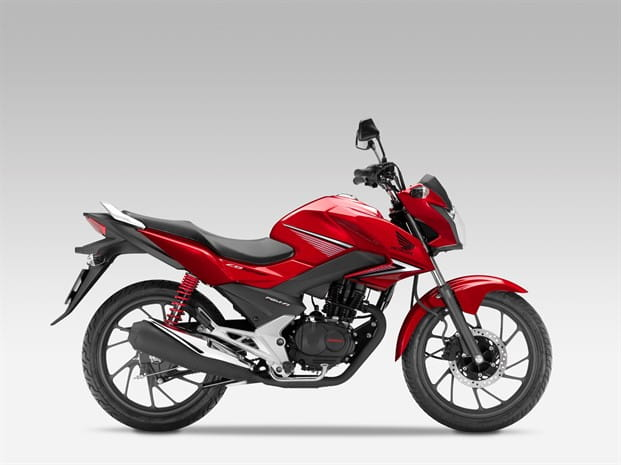 Honda's CB125F gets a styling update for 2015, and claims of 151.1 mpg!