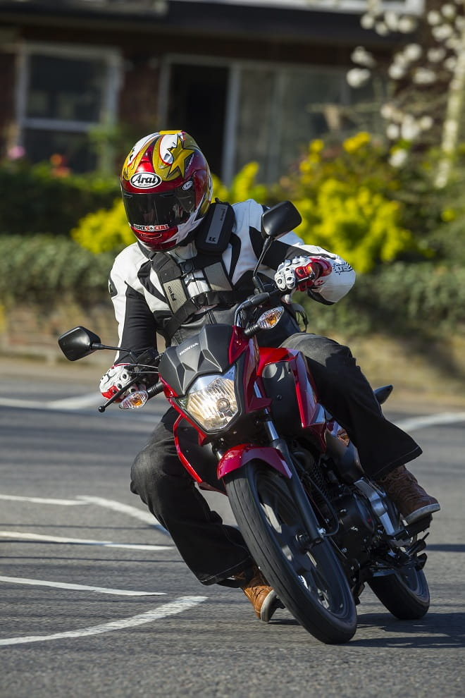 Honda's CB125F is a fantastic way to start motorcycling.