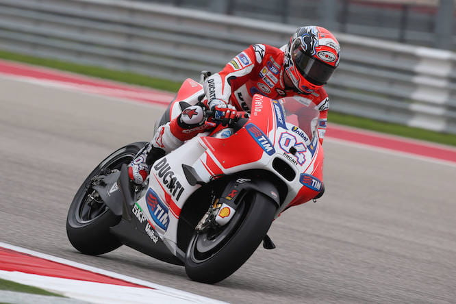 Dovizioso finished second again
