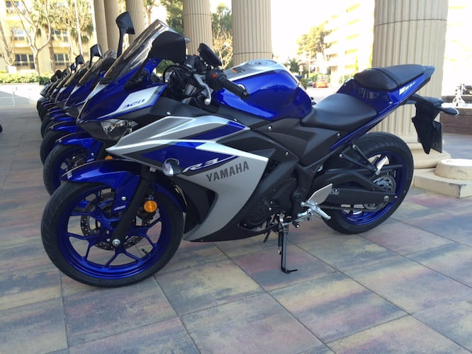 Here are our first impressions of the Yamaha R3