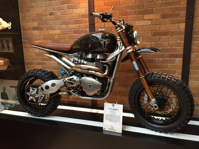 Triumph's Custom Build Off Scrambler