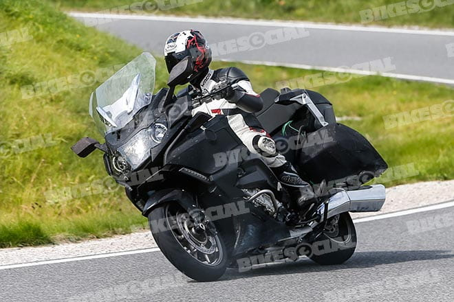 Spy Shots Updates For 2016 Bmw K1600gtl