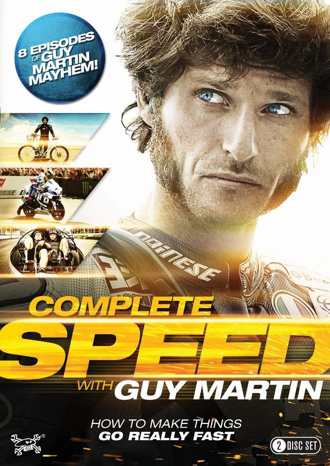6 hours of Guy Martin available from 8th June 2015