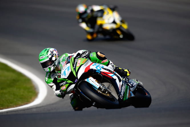 Ellison stormed to pole at Brands