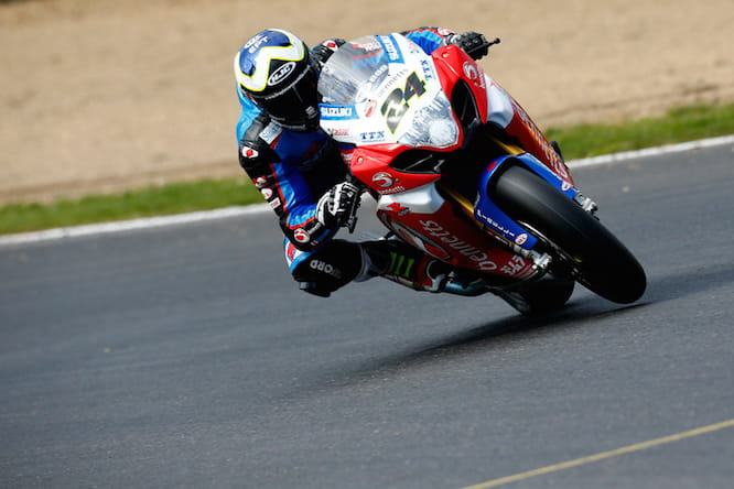 Iddon took the Bennetts Suzuki into Q3 for the first time