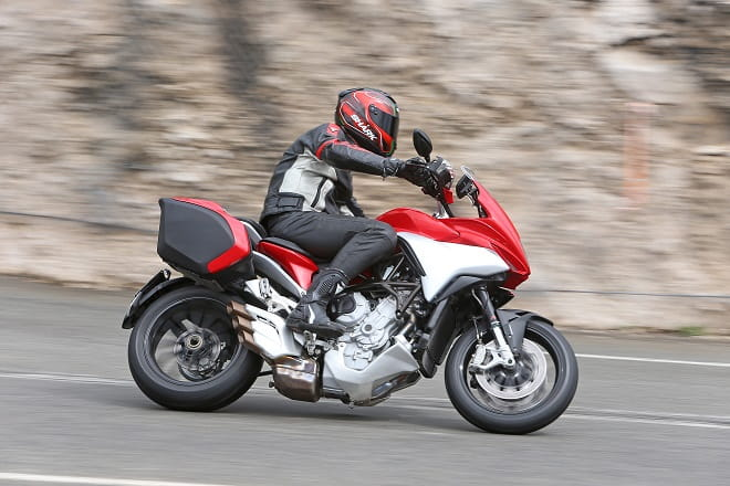 "MV's all-new ""Fast Touring"" 798cc triple"