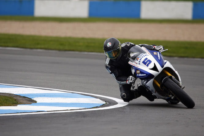 Guy finished 16th at Donington