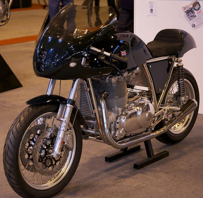 The Cafe Racer is one of two styles the Mk 5 is available in