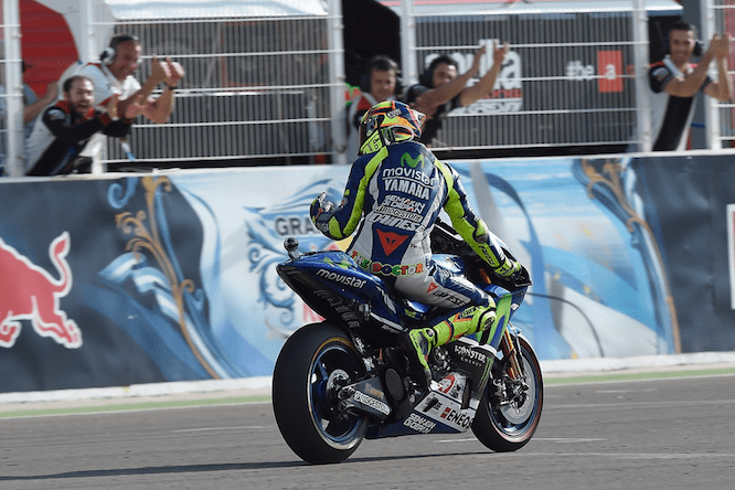 Rossi says he'd rather have battled until the end