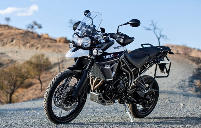 Brand new Triumph Tiger 800 XCA