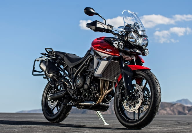 Brand new Triumph Tiger 800 XRT