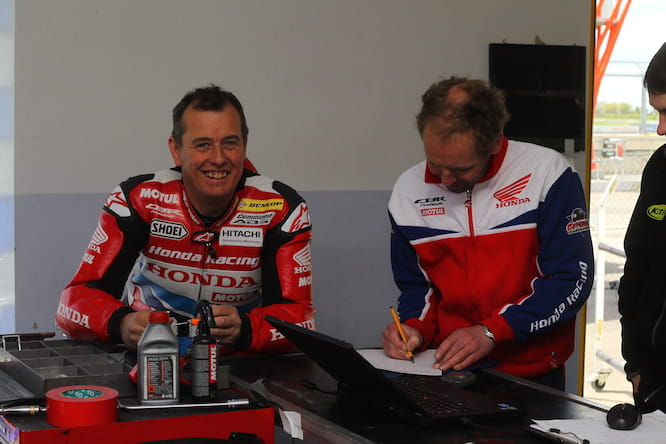 John McGuinness says he's out for the win this year