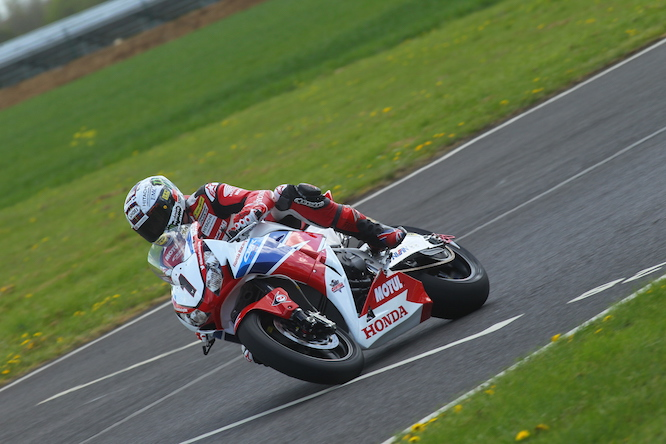 McGuinness has been testing at Castle Combe