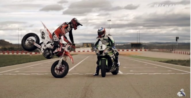 While Supermoto shows off, Kawasaki remains unimpressed