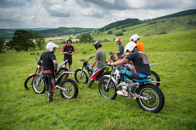 Based in Lancashire see what trials riding is all about with the Inch Perfect Trials school