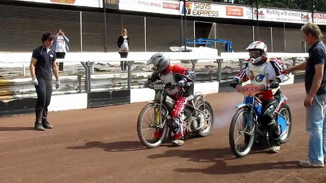 Learn how to ride a 125cc, 350cc or 500cc speedway bike