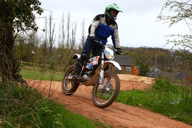 Bike Social's Paul Taylor goes electric off-roading