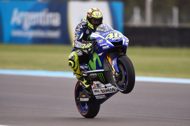 Rossi leads the championship