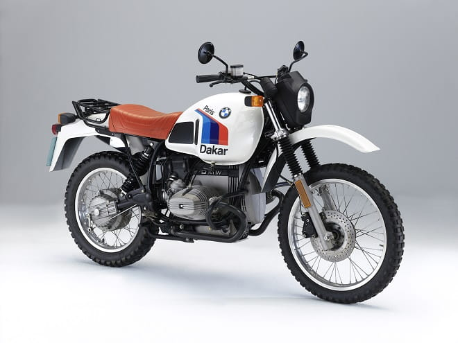The 1981 Dakar replica, made after the BMW's win