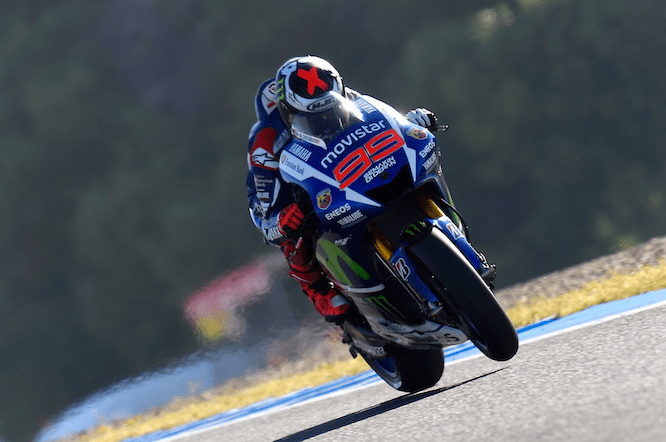 Lorenzo took pole in Jerez