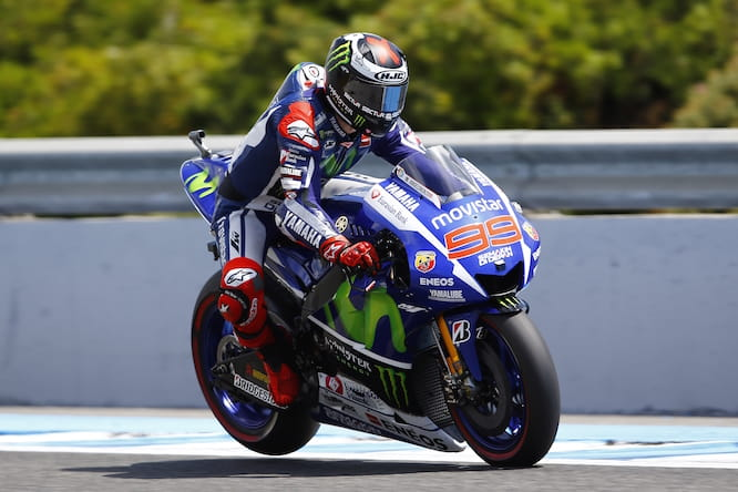 Lorenzo took his first victory of the season