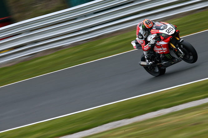 Brookes took the R1's first British Superbike pole