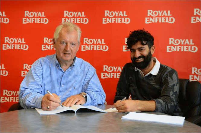 Royal Enfield buys Harris