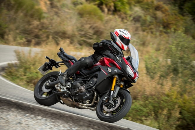 Yamaha's MT-09 Tracer was a best seller in March & April
