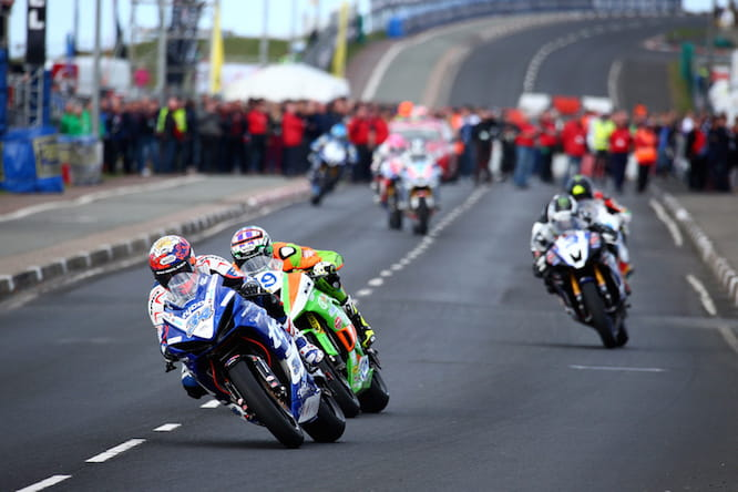 Seeley won both Supersport races