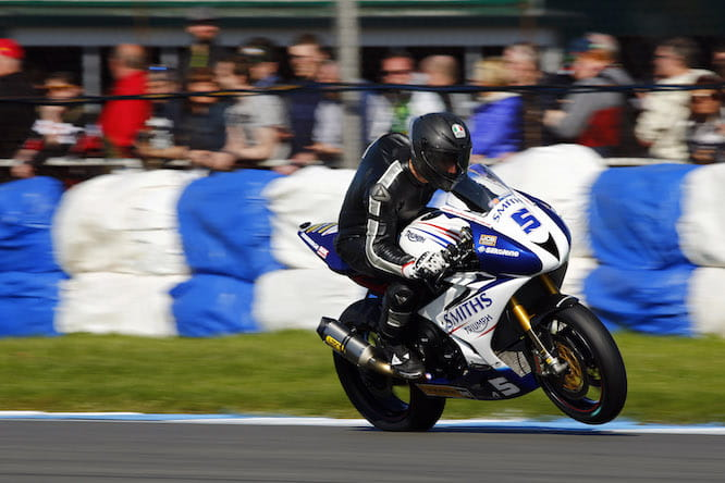Martin on the Smiths Triumph at Donington