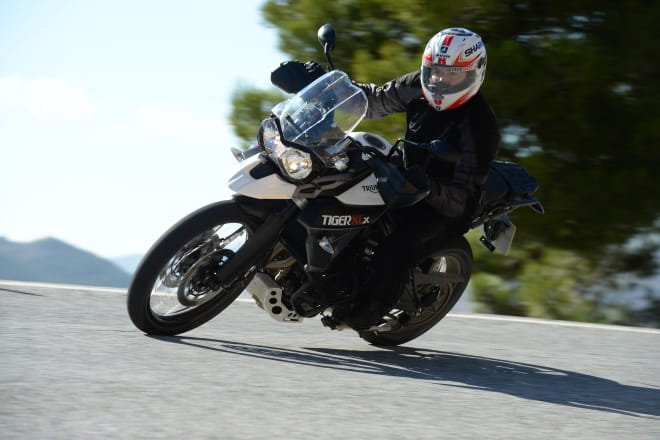 2015 Triumph Tiger 800 XCx; just one of the latest models